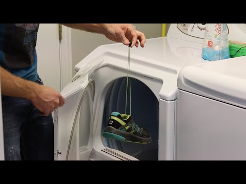 How To PROPERLY Dry Your Shoes In The Dryer | HowDoesHE