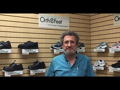 A Step In The Right Direction- Orthofeet Orthotic Shoes