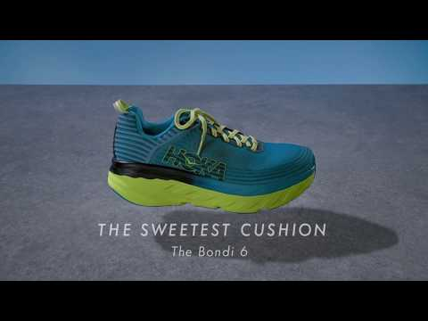 HOKA ONE ONE presents the Bondi 6