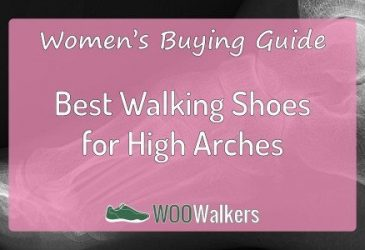 What are the Best Women's Walking Shoes for High Arches?